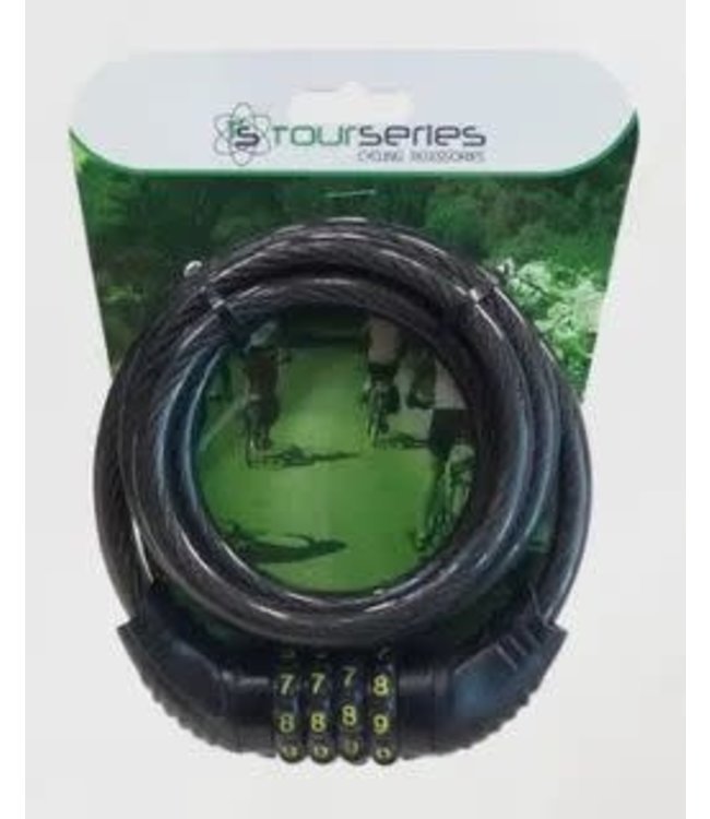 Proseries Lock Cable Combo 4 digit 10mm x 1500mm