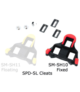 Shimano Cleat Road Spd SL Red Fixed SM SH10