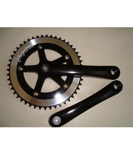 Original Singlespeed Chainring 44t 130BCD Alloy Black (Chainring only)