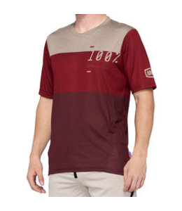100% 100 % Airmatic Jersey Brick/Dark Red XL