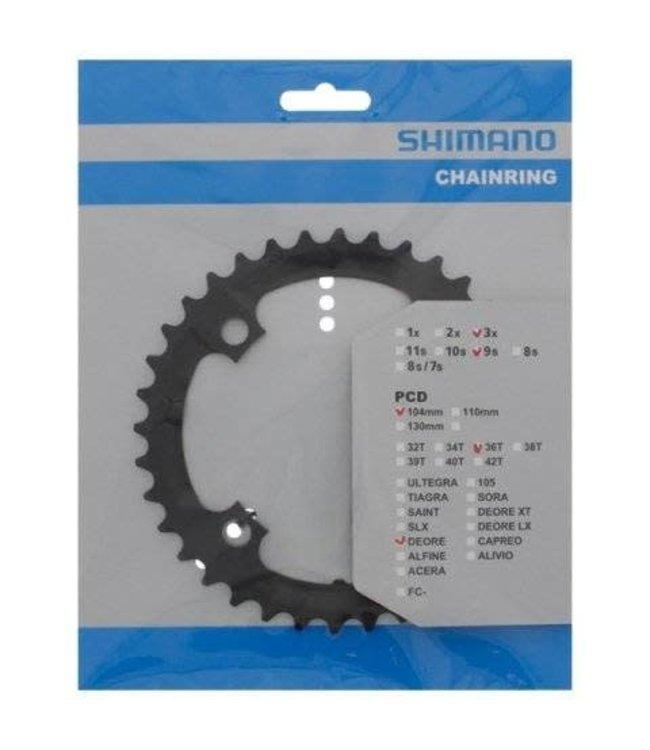Shimano Shimano FC-M590 36t Chainring 104bcd 3 x 9