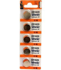 Vinnic CR1620 Battery Litium 3V (each)