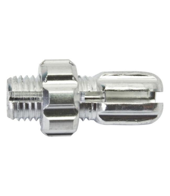 Brake Cable Barrel Adjuster 10mm Silver