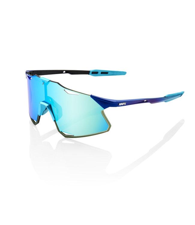 100% 100% Sunglasses Hypercraft M Metallic Blue Topaz