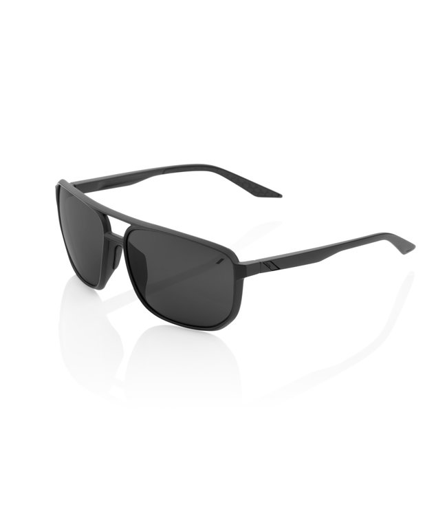 100% 100% Sunglasses Konnor M Black Black Mirror Lens