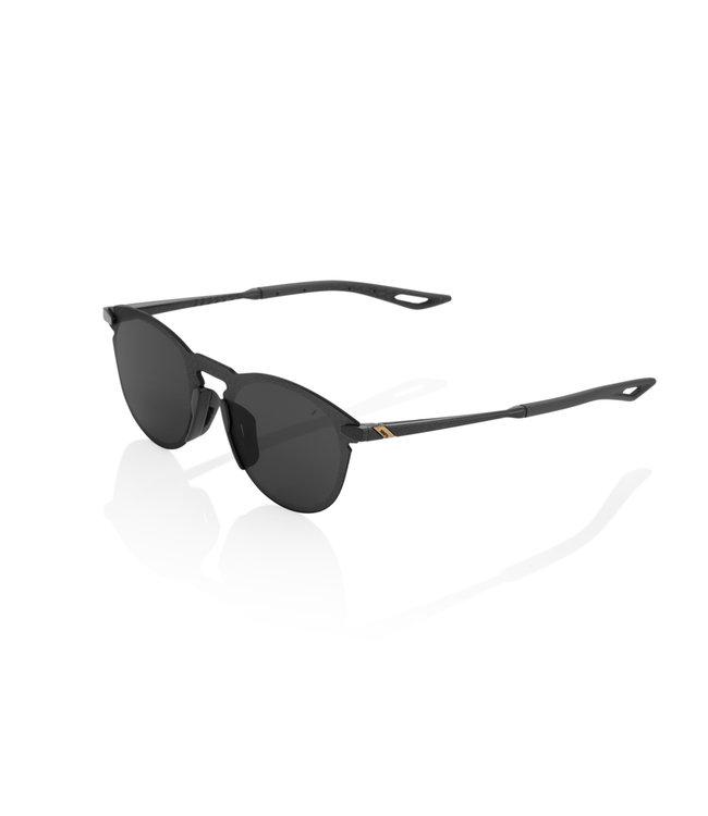 100% 100% Sunglasses Legere R Polished Black Smoke