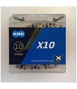 "KMC Chain  X10 1/2x11/128"" 116 Link"