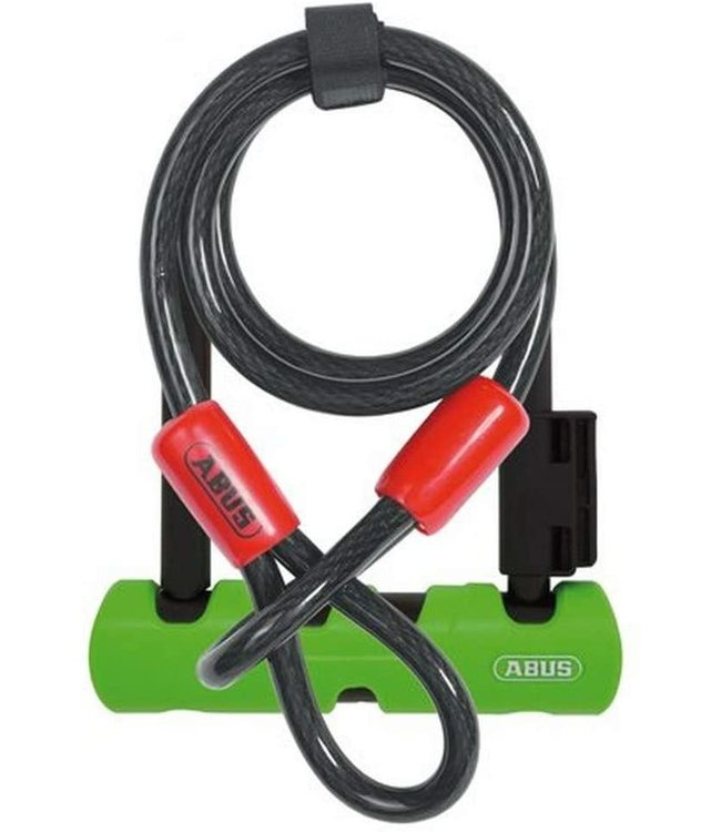Abus Lock Ultra Mini U-Bolt 410 + Loop Cable