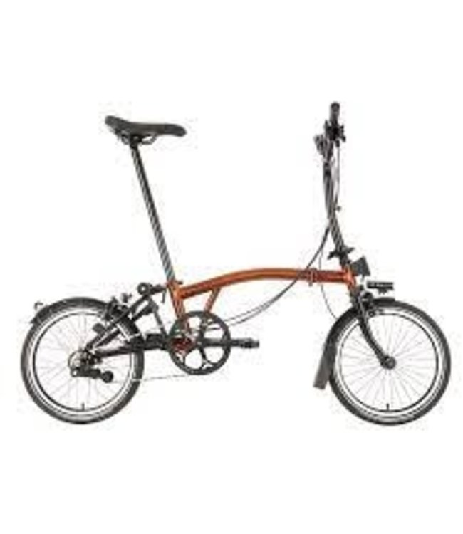 Brompton Brompton MY21 H6L Black Edition Flame lacquer