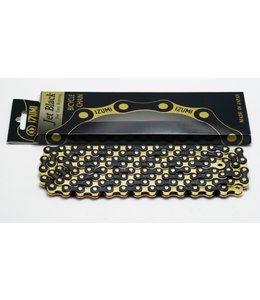Izumi Chain Black / Gold 1/2 x 1/8 116 link