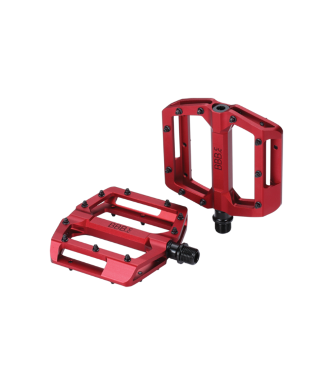 BBB Enigma MTB Pedals BPD-38 Red