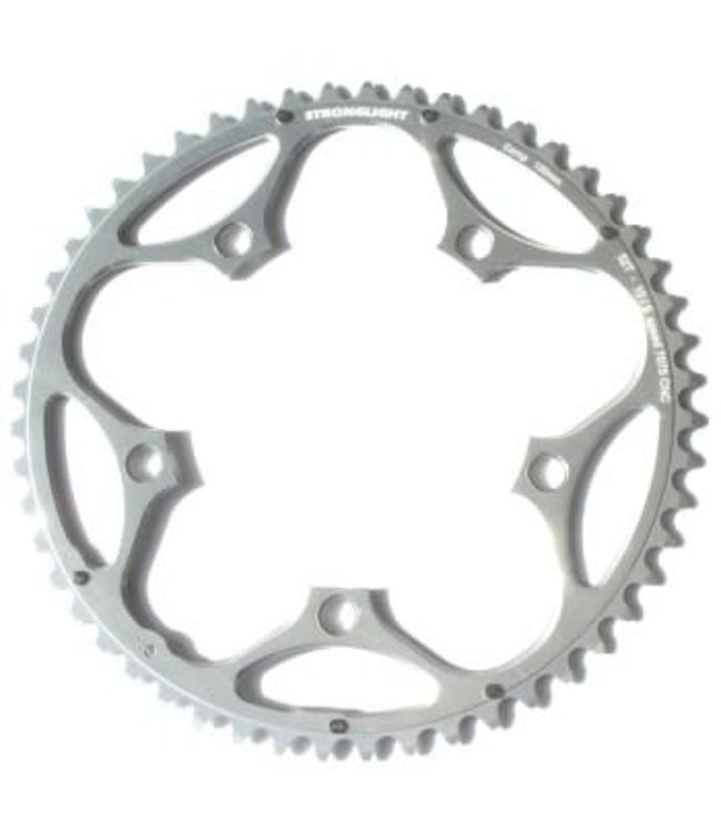 Stronglight Plateaux 7075 9/10spd Chainring BCD130mm 5 Bolt 50t CNC Silver