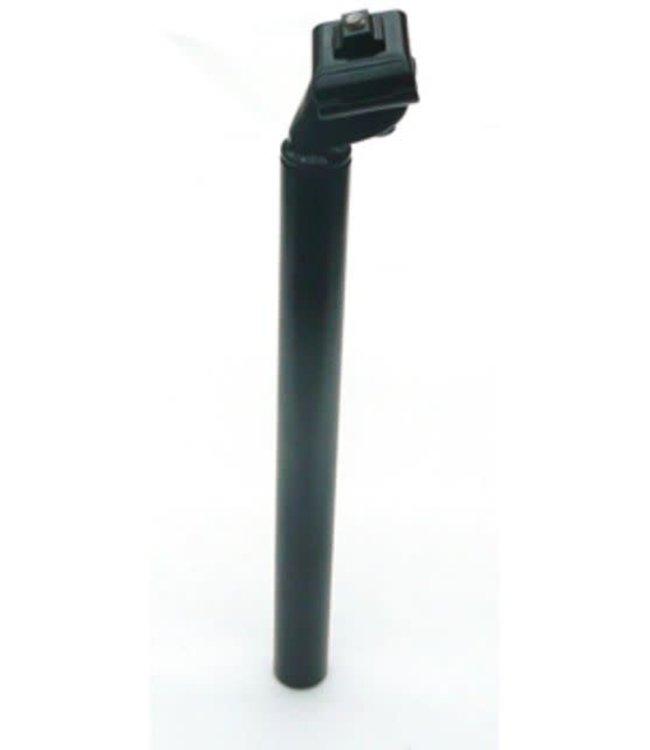 Bike Lane Seat Post 27.8 x 400mm Alloy Black
