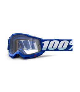 100% 100% Accuri 2 Enduro Goggle Blue Clear Vented Dual Lens