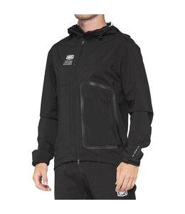 100% 100% Hydromatic Jacket Black