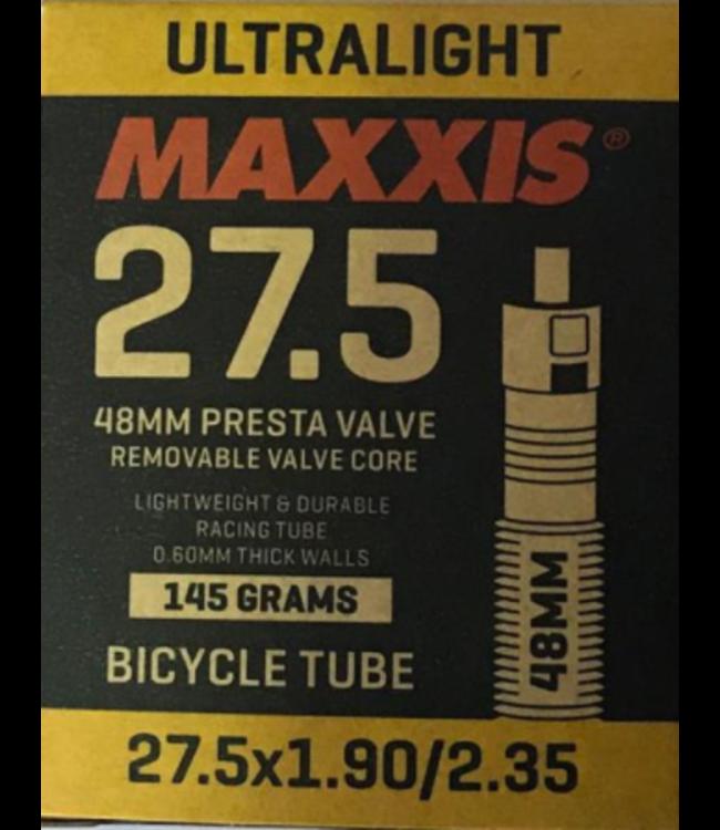 Maxxis Maxxis  Ultralight Tube 27.5 x 1.9/2.35 48 MM Presta Valve