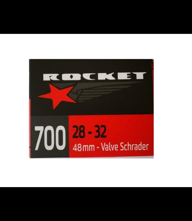 Rocket Tube 700 x 28 / 33 Schrader Valve