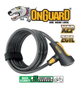 Onguard Lock Doberman Coil Key 185mm 10mm