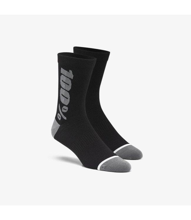 100% 100% Rythym  Merino Wool Socks