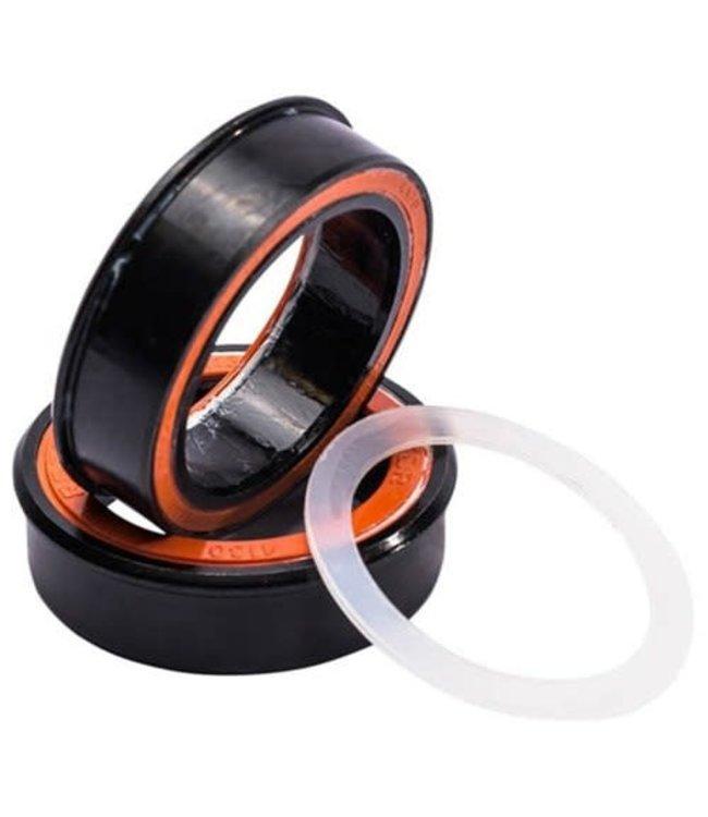 Rotor Bottom Bracket PressFit 4130 Steel Black