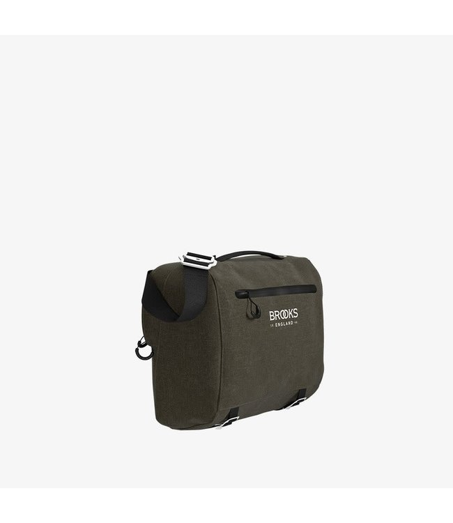 Brooks Brooks Scape Handlebar Compact Bag Mud Green
