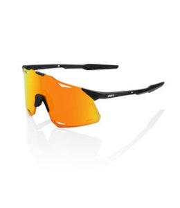 100% 100% Sunglasses Hypercraft Matt Black Hyper Red