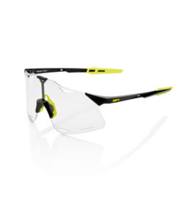 100% 100% Sunglasses Hypercraft Gloss Black Photochromic