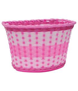 Oxford Oxford Basket Kids White Pink #BK140P