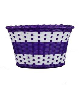 Oxford Basket Kids White Lilac #BK140L