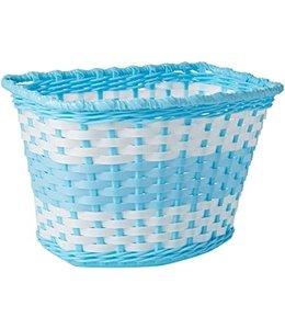 Oxford Basket Kids White Blue #BK140U