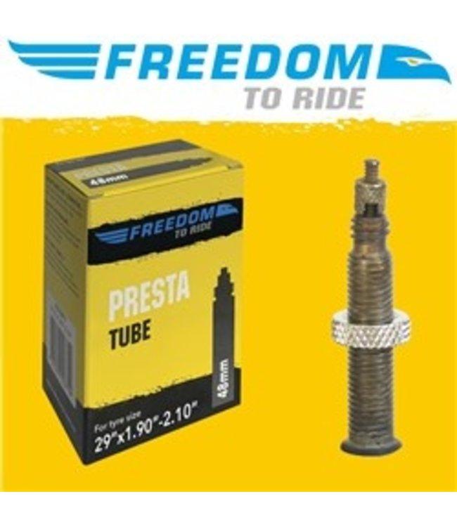 Freedom To Ride Freedom Tube 29 x 1.9-2.1 48mm FV Presta Valve