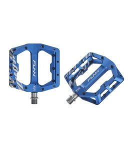 FUNN FUNN Pedal - FUNNDAMENTAL - BLUE w/ Steel Black Pins
