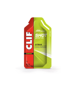 Clif Gel Citrus-With 25 mg of Caffeine