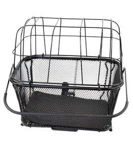 BPW Pet basket carrier Large Black 40cm x 30cm x 35cm quick release