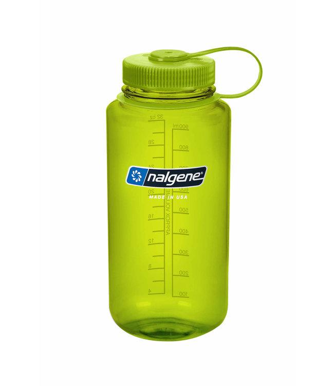 Nalgene Nalgene Bottle Wide Mouth Tritan 1000mL Spring Green