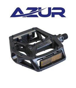 Azur Pedal Rail 1/2 inch Black