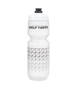 Wolf Tooth Matrix Water Bottle26 Oz Clear