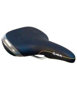 Velo Saddle for E-Bike V7500 w/handle and protective bumper Black