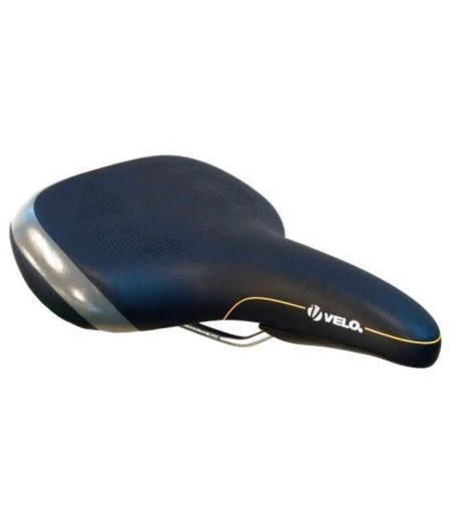 Velo Velo Saddle for E-Bike V7500 w/handle and protective bumper Black