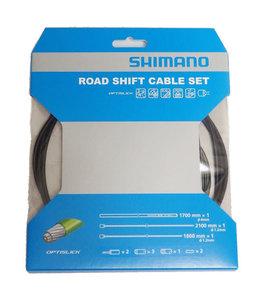 Shimano Road Shift Cable Set OptiSlick 2100mm/1800mm