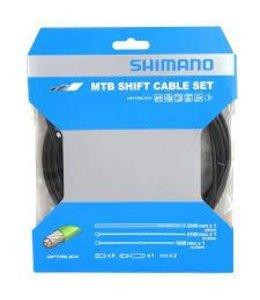 Shimano MTB Shift Cable Set OptiSlick 2100mm/1800mm