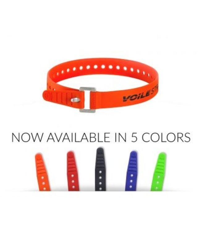 """Voile Voile Strap XL Aluminium Buckle Orange 22"""""""