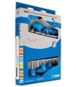 Unior Unior Box Set T Handle Square End Hex Keys Professional 7pcs #607890
