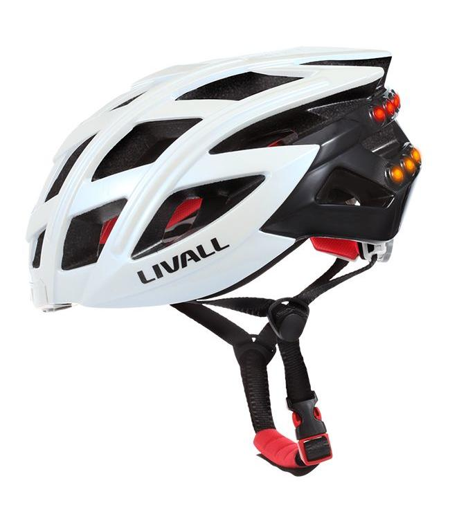 Linvall Livall Bluetooth Smart Helmet Gen 2 White