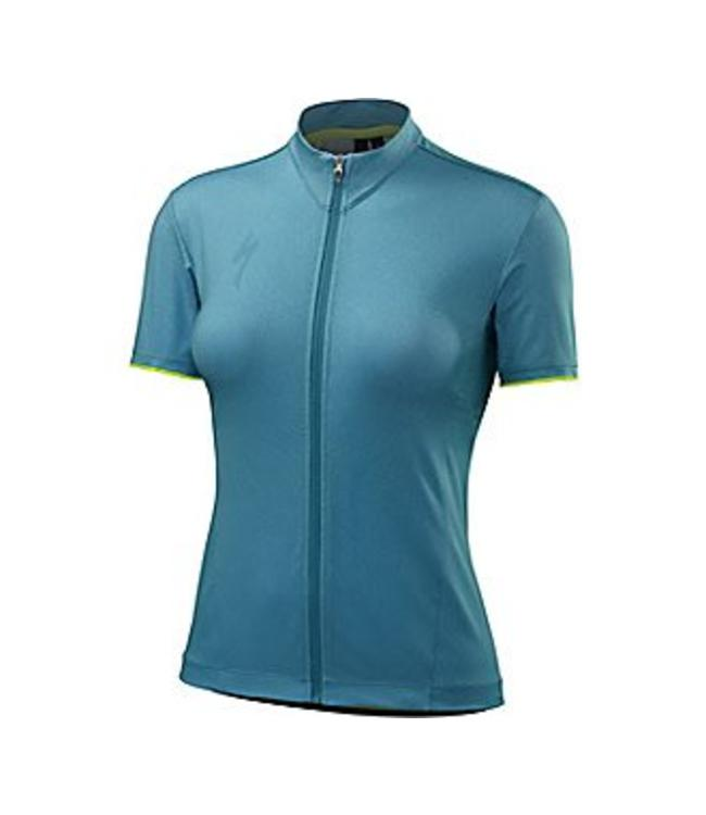 Specialized Specialized Jersey Roubaix Comp Womens Short Sleeve Turquoise Large