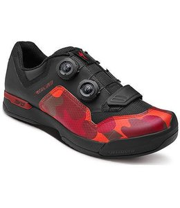 Specialized Specialized MTB Shoe 2FO Cliplite Black / Red Camo 44