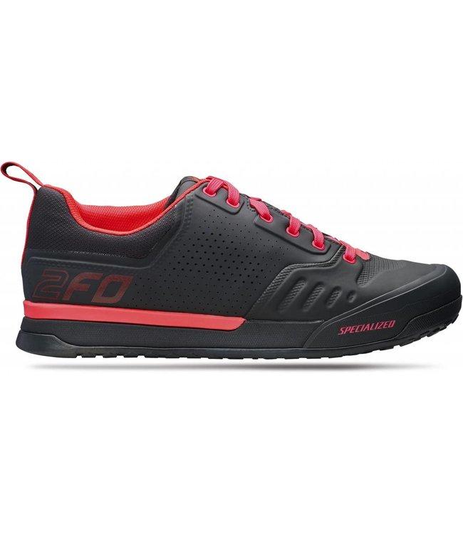 Specialized Specialized Shoe 2FO Flat 2.0 Black/Rocket Red 45