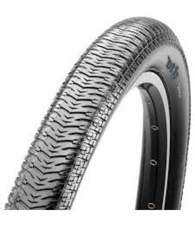 "Maxxis Maxxis DTH Tire: 24 x 1.75"", Wire, 120tpi, Dual Compound, SilkWorm, Black"