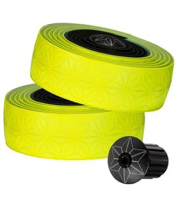 Supacaz Supercaz Bar Tape Sticky Kush Neon Yellow / Black