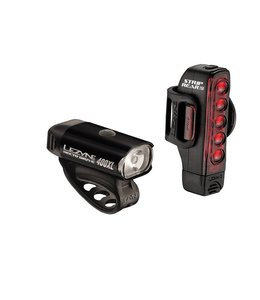 Lezyne Lezyne Lightset Hecto Drive Front and Strip Rear Pair 400 / 400 Lumens